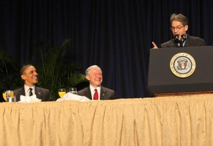 Eric Metaxas' biography led to an invitation to speak at the 2012 National Prayer Breakfast, an event that hosts the President each year. Photo courtesy Eric Metaxas