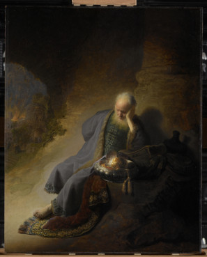 "Rembrandt's ""Jeremiah"" painting. Photo courtesy Rijksmuseum"