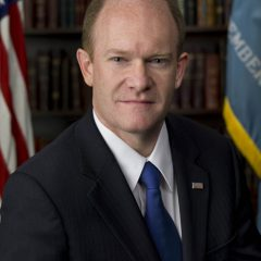 Democratic Senator Chris Coons (Del.) helped introduce the Church Health Plan Act of 2013 aimed at allowing church employees to apply for tax credits.