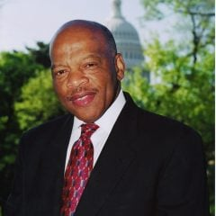Rep. John Lewis photo courtesy the Office of Rep. John Lewis (www.johnlewis.house.gov)