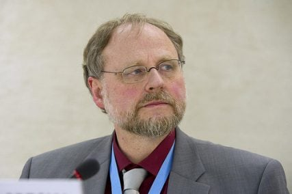 Dr. Heiner Bielefeldt, U.N. special rapporteur on freedom of religion or belief.
