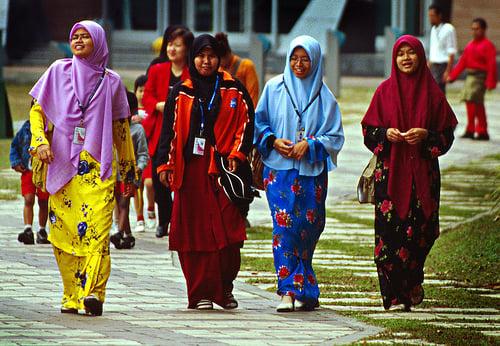 Malaysian Muslim women