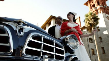 Annie & Paul Levano on their wedding day. Photo courtesy Backlot Films
