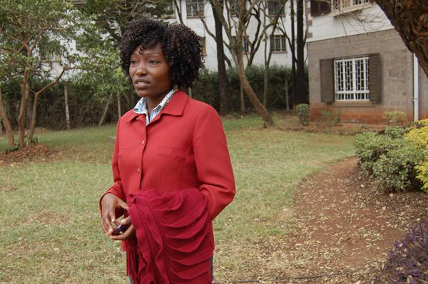 Akech Aimba, an abortion survivor who heads Pearls and Treasures Trust, a Kenyan organization that provide post -abortion care to women affected by unsafe abortion.She says abortion kills the fetus, but also kills women psychologically. and emotionally. RNS photo by Fredrick Nzwili