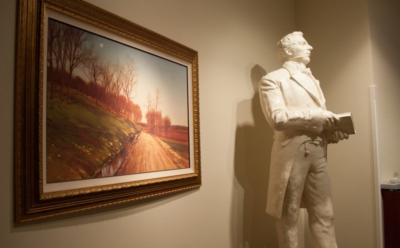 A statue of founder Joseph Smith at the Church of Jesus Christ of Latter-day Saints' Independence Visitors' Center in Missouri on Sept. 10, 2013. RNS photo by Sally Morrow