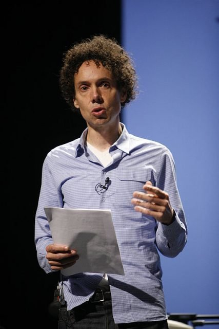Malcolm Gladwell speaks at PopTech! 2008 conference.