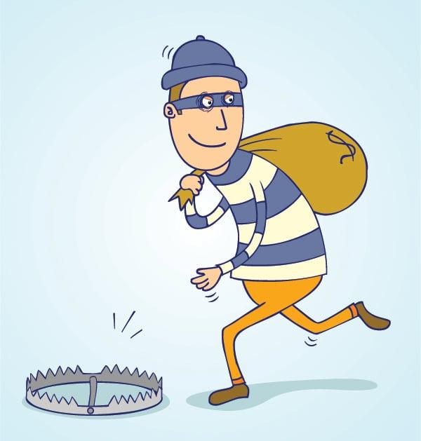 Thief trap photo