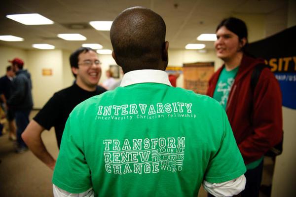 Photo of InterVarsity students