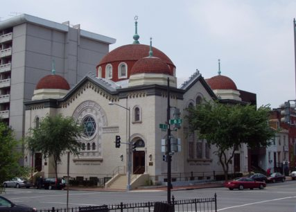 Sixth & I Historic Synagogue received $75,000 in preservation funding to renovate a dozen of its stained glass windows. Photo by Bruce Guthrie/courtesy The Harbour Group