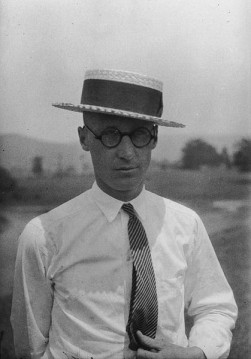 Teacher John Scopes who was found guilty of teaching human evolution in a state-funded Tennessee school in 1925.