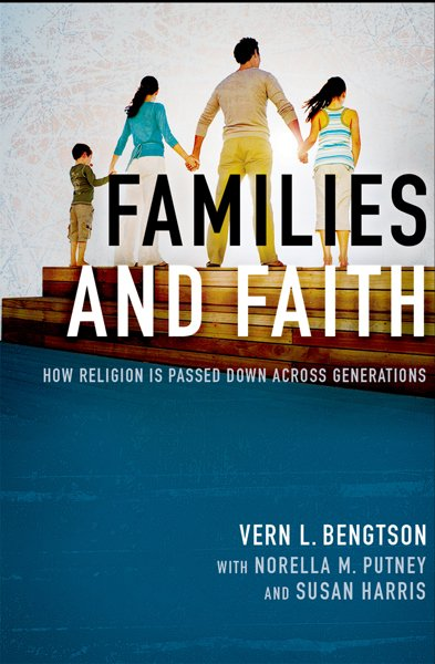 """Families and Faith"" book cover photo courtesy of Vern Bengtson"