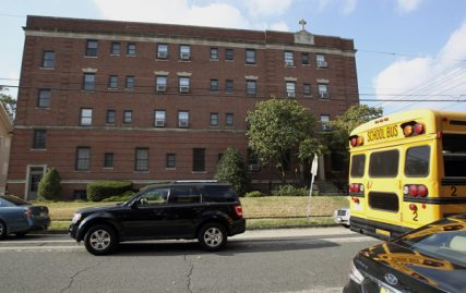 Archdiocese of Newark places pedophile priests in this retirement home in Rutherford, which not far from two schools, for supervision. Photo by Saed Hindash/The Star-Ledger