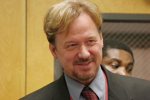 A United Methodist jury Monday night found the Rev. Frank Schaefer guilty of violating church law for officiating at the 2007 wedding of his son and another man. Photo by Kathy Gilbert/United Methodist News Service