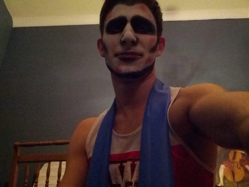 Selfie by Zombie Panda Triathlete AKA Brian Pellot