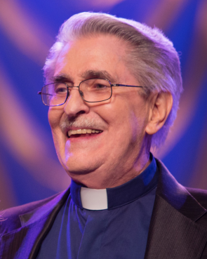 Paul Crouch, the religious broadcaster who co-founded Trinity Broadcasting Network and was known for his prosperity gospel messages and lavish lifestyle, died Saturday (Nov. 30). He was 79. Photo courtesy Trinity Broadcasting Network