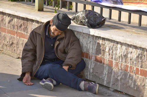 72d87ba744f4 A Mormon bishop (not pictured here) recently disguised himself as a  homeless man to encourage more compassion in his congregation.