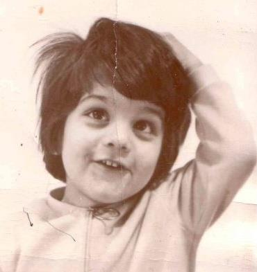 omid safi, as a four year old
