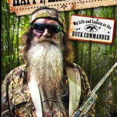 """Cover of Phil Roberston's new book, """"Happy, Happy, Happy,"""" via A&E."""