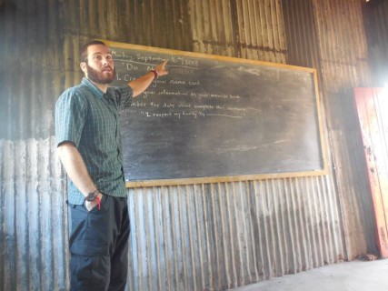 Conor Robinson teaching