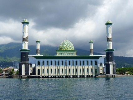 Grand Mosque, Ternate, Indonesia