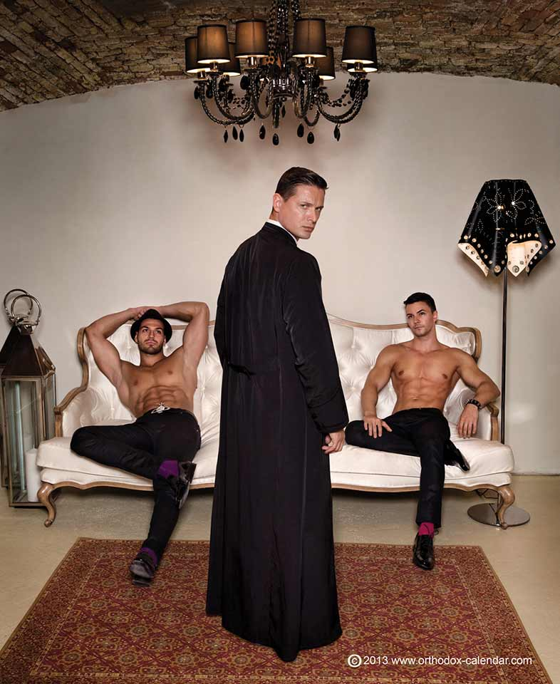 Racy Orthodox Calendar Pushes Gay Rights Ahead Of Russian Olympics - Religion News Service-9413