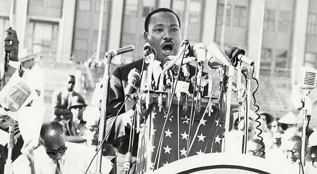 Martin Luther King Jr.'s legacy calls Christians to keep pressing forward toward justice and equality. - Image courtesy of UIC Digital Collections (http://bit.ly/1bdOJ2h)