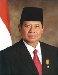 Official presidential portrait of Susilo Bambang Yudhoyono (2004–2009)