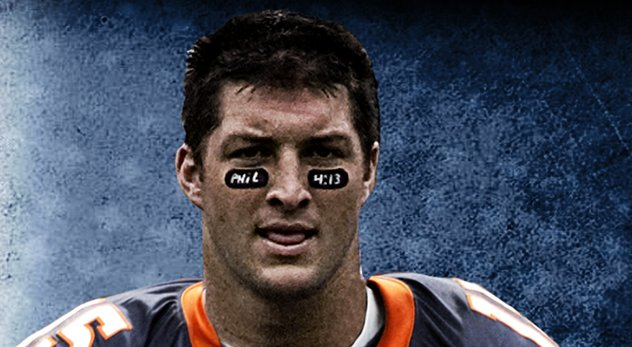 Tim Tebow is one of many famous Christians to use Philippians 4:13 as an inspiration for winning. - Image courtesy of StefanRalle (http://bit.ly/1kEozPJ)