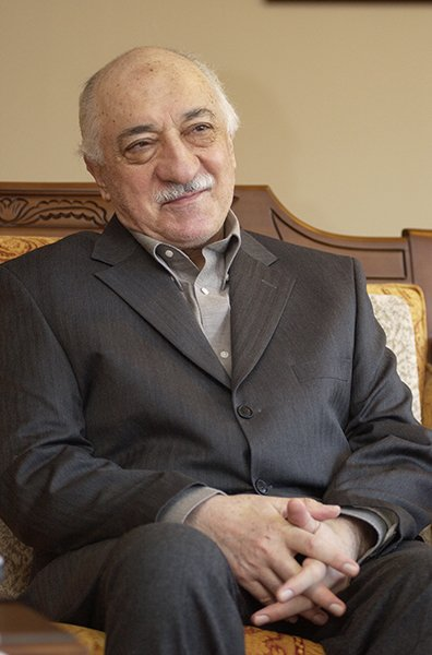 Since 1999, Turkish cleric Fethullah Gulen has lived in relative obscurity at a compound in rural Pennsylvania's Pocono Mountains, where this photo was taken on March 3, 2004. Photo by Selahattin Sevi