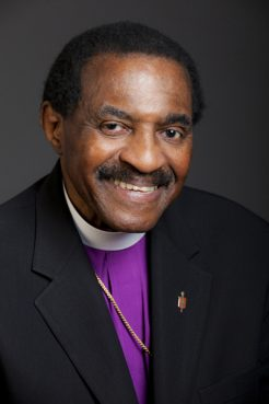 Bishop Woodie W. White, a bishop-in-residence at Emory University's Candler School of Theology for the last decade. Photo courtesy of Woodie White