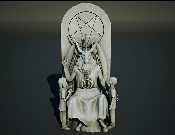 COMMENTARY: If Christians can build statues, so can Satanists