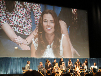 Linda Cardellini at the 'Freaks and Geeks' PaleyFest reunion in 2011.