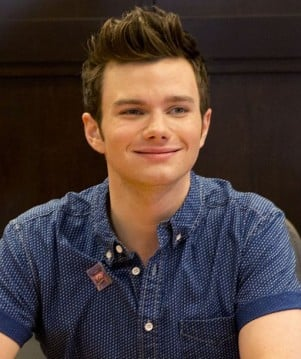 'Glee' star Chris Colfer at a book signing at The Grove in Los Angeles, CA.