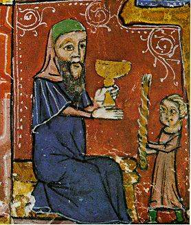 Havdalah Service (to mark the end of the Sabbath), 14th c. Spain.