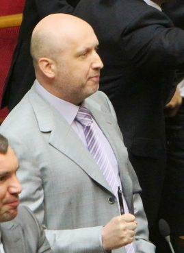 Oleksandr Turchynov, the interim president of strife-torn Ukraine.