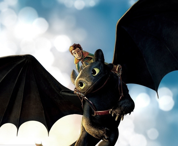 Hiccup & Toothless in flight. Photo courtesy Brett Jordan via Flickr Creative Commons.
