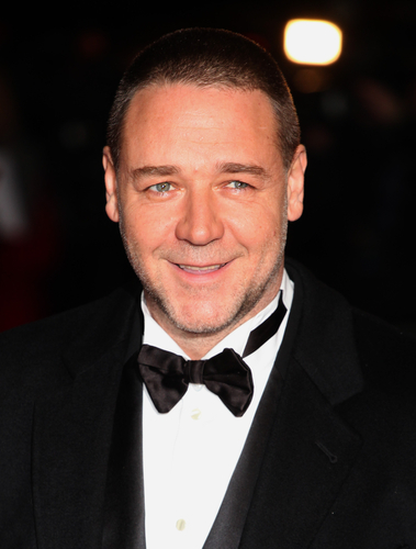 Russell Crowe arriving for the premiere of 'Les Miserables' at Leicester Square, London.