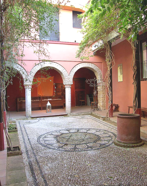 Casa de Sefarad, a museum in Cordoba, Spain, devoted to Spanish Jewry. Photo courtesy of Casa de Sefarad