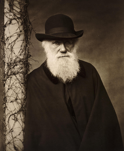 """Questioning Darwin,"" a new, hourlong documentary airing on HBO throughout February, juxtaposes the story of the 19th-century British naturalist with looks into the lives of contemporary American Christians who believe the world was created in six days, as described in the Book of Genesis. Portrait of Charles Darwin (c. 1880) courtesy of HBO"