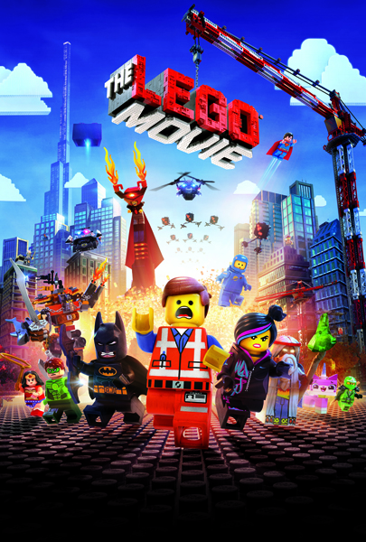 """The LEGO Movie"" poster courtesy of © 2014 Warner Bros. Entertainment Inc."