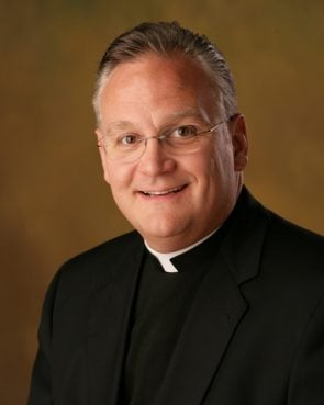 Msgr. Edward J. Arsenault, president and CEO of St. Luke Institute, resigned in the wake of an investigation into an alleged inappropriate adult relationship and the uncovering of possible illegal financial dealings in the Diocese of Manchester, N.H. Msgr.  Arsenault is pictured in a 2008 photo. Catholic News Service photo/courtesy of Father Edward Arsenault