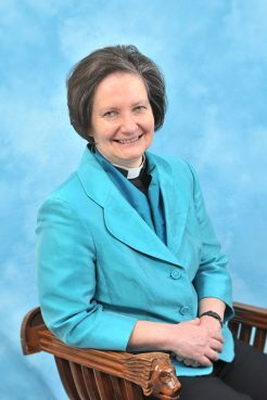 Vivienne Faull, the dean of York, is a favorite to be the first woman made bishop. Photo courtesy of York Minister
