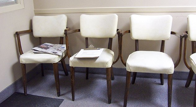 An image of an empty waiting room is a fitting metaphor for the historically low abortion rate in America. - Image courtesy of Julep67 (http://bit.ly/1h6YD9G)