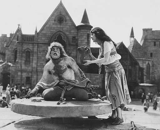 A still from the 1923 movie 'The Hunchback of Notre Dame,' which is now in the public domain.