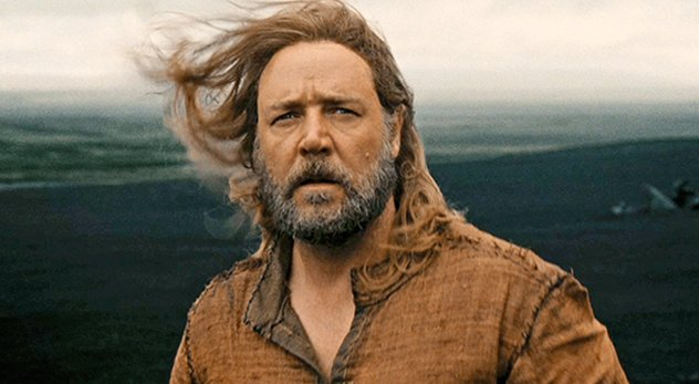 "Russell Crowe stars alongside Jennifer Connelly, Emma Watson, and Anthony Hopkins in Paramount Pictures ""Noah."""