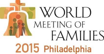 The logo for the World Meeting of Families, an international Catholic event, scheduled for 2015 in Philadelphia. Photo courtesy of World Meeting of Families -- Philadelphia