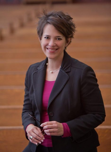 The Rev. Amy Butler is the seventh senior minister at the Riverside Church in New York City and the first female to hold that position.