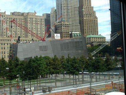 The National September 11 Memorial & Museum, photographed in Aug. 2011.