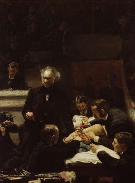'The Gross Clinic' painting by Thomas Eakins (1875).