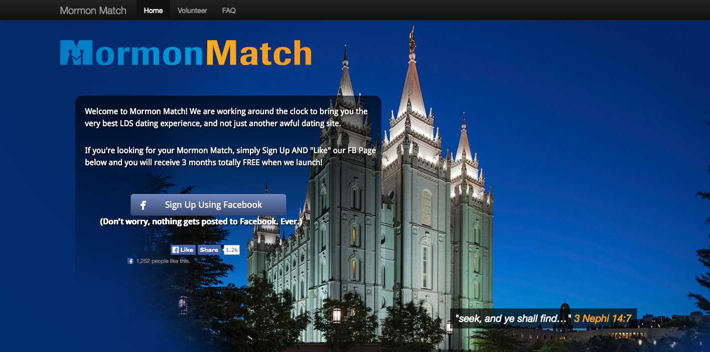 Lds dating service